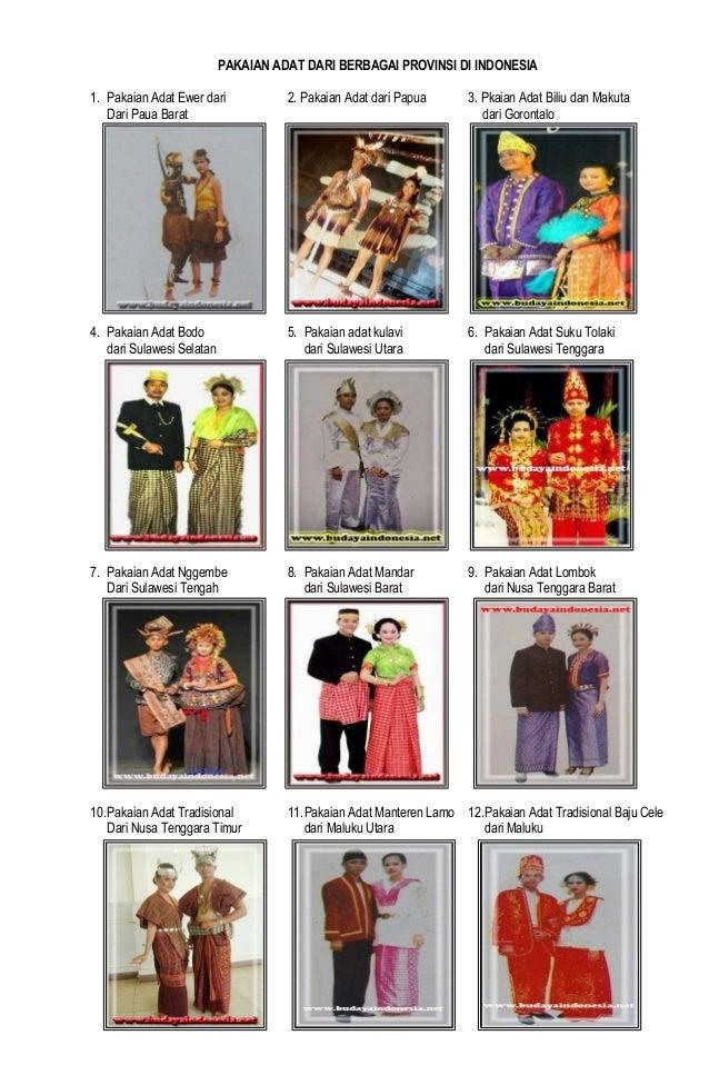 85 Gambar Baju Adat Indonesia