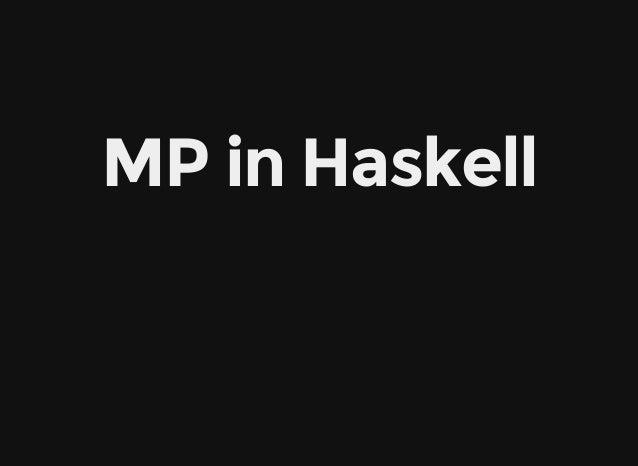 MPinHaskell
