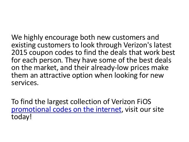 Verizon Fios sells residential and business phone, internet and TV packages. How to Use a Verizon Fios Coupon: Activate Verizon Fios offers by clicking