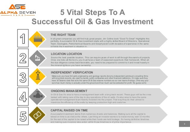 5 Vital Steps to Investing in Oil and Gas