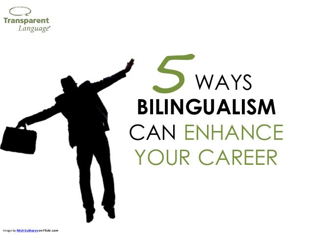 WAYS BILINGUALISM CAN ENHANCE YOUR CAREER 5 Image by Mish Sukharev on Flickr.com