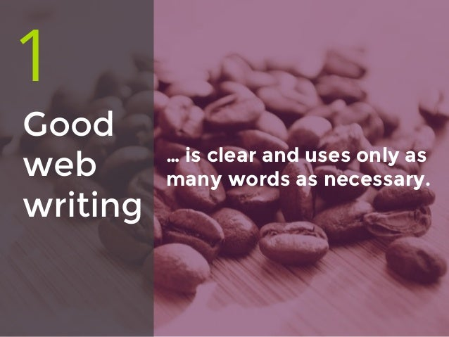 5 ways good web writing is great for your business Slide 2