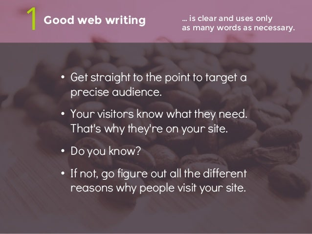 5 ways good web writing is great for your business Slide 3