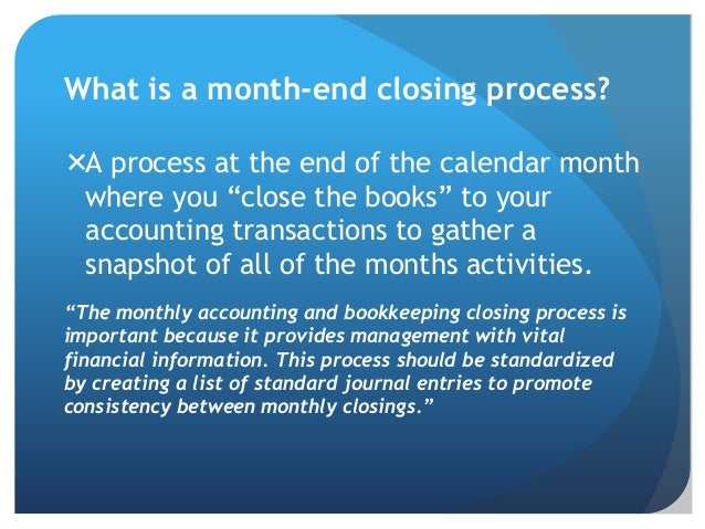 5 Ways To Review Your Month End Closing Process
