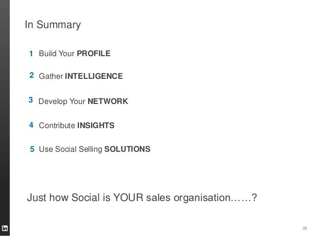 LinkedIn's Social Selling Index  First-of-its kind measure that ranks company utilisation of LinkedIn as a social selling ...