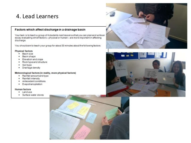 4. Lead Learners