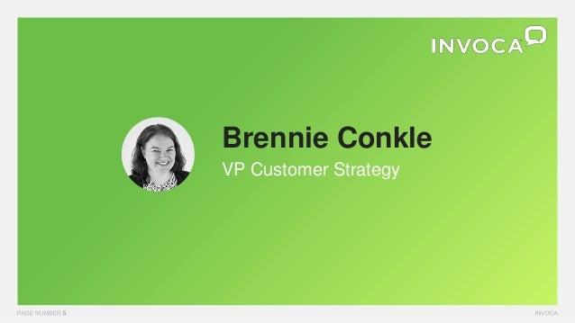 Brennie Conkle VP Customer Strategy