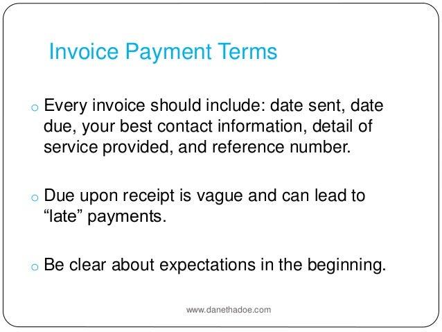 5 ways to improve cash flow, Invoice templates