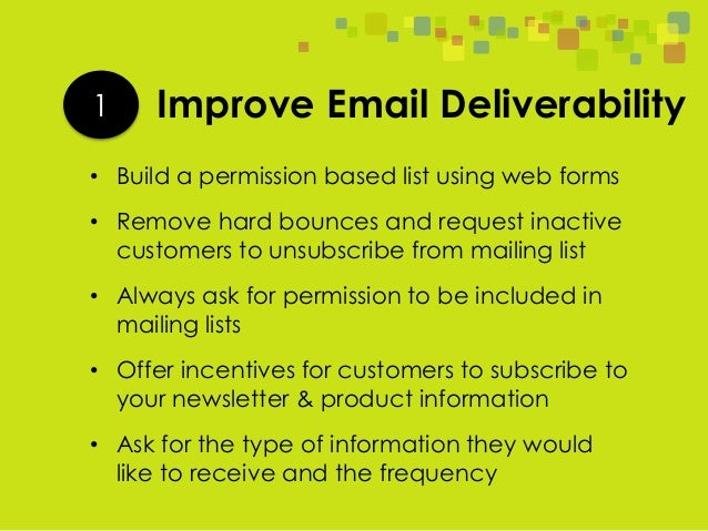 5 Simple Ways To Improve Your Email Open Rate Slide 3