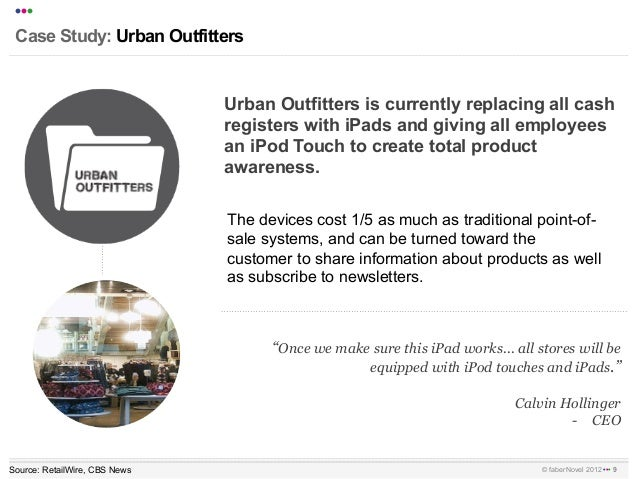 urban outfitters continuing case studies Read how urban outfitters uses appboy's powerful send-time optimization feature, in order to determine individual high-engagement windows for each recipient an.