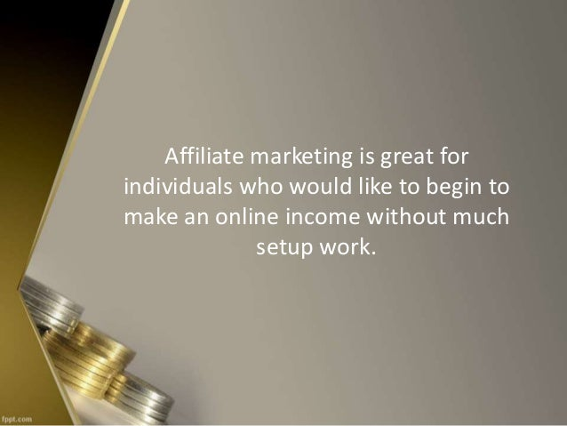 5 ways to make money from affiliate programs without your for Build your own house program