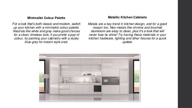 3. Minimalist Colour Palette For A Look Thatu0027s Both Classic And Modern, Switch  Up Your Kitchen ...