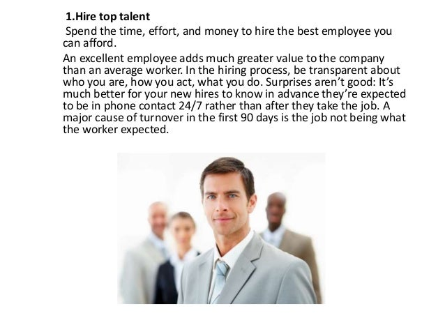 how to reduce employee turnover with 10 ways to reduce employee turnover by dorie clark 160 we all know it costs thousands of dollars -- if not tens of thousands -- when an employee quits there are recruiting expenses, your own.