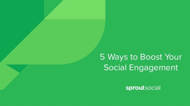 5 Ways to Boost Your Social Engagement