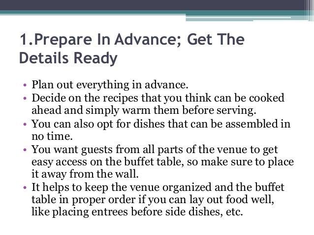 5 wedding buffet table setting ideas that work