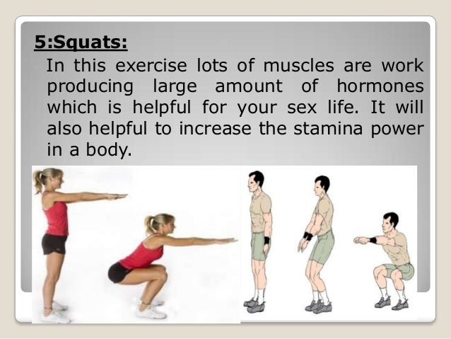 Excercise to improve sex