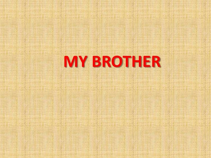my disabled brother essay My brother is the most influential person in my life my brother and i are most sign up to view the whole essay and download the pdf for anytime.