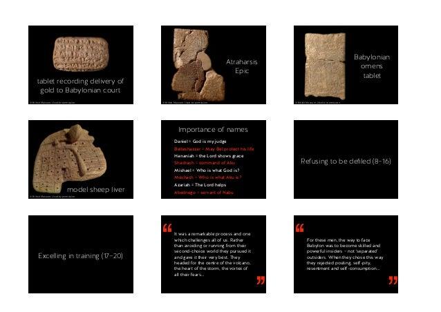 Bible and Culture 2016 – Daniel 1–2 Slide 3