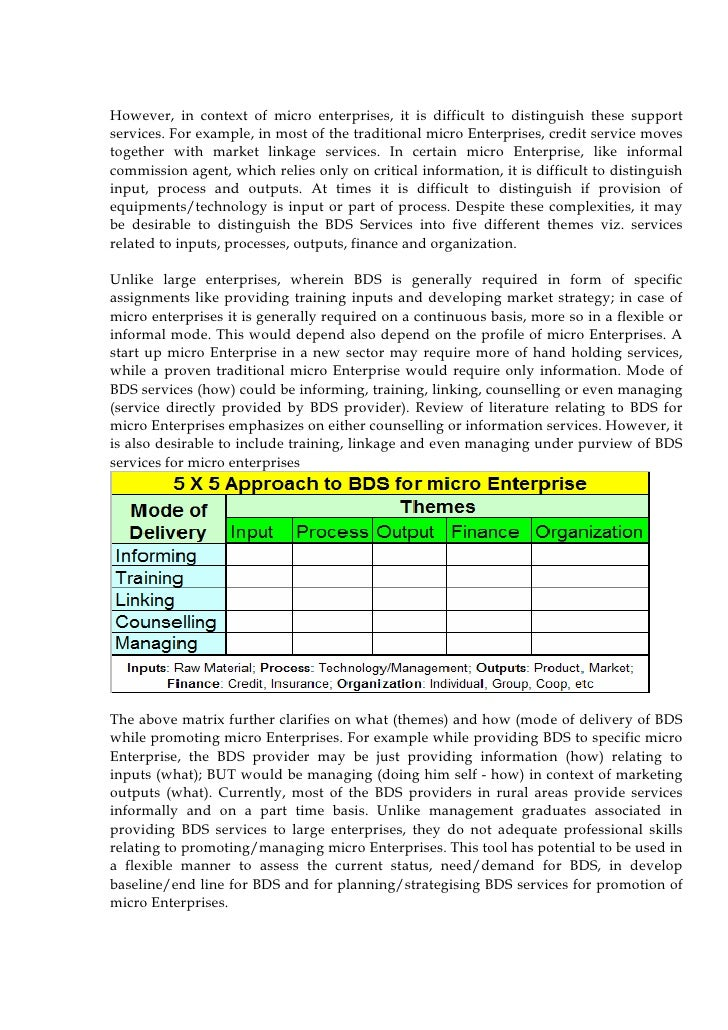 the growth of the micro enterprise Abstract- this study examines the constraints and growth potentials of micro and small enterprises to undertake this study  result indicated that micro and small enterprises employment growth was significantly affected by constraints like crrent capital, current employment level, start up employment level,.