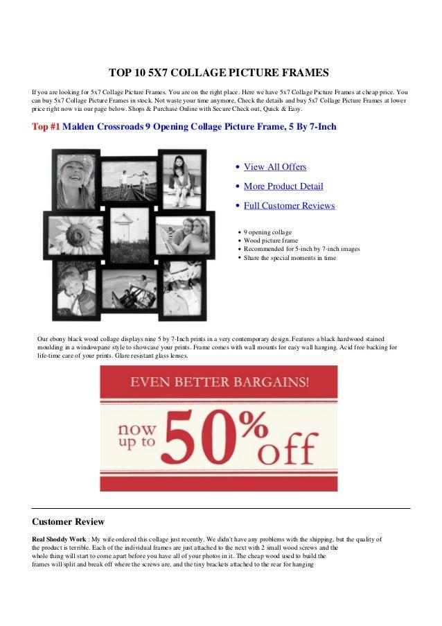 f8e11e589fd4 5x7 Collage Picture Frames