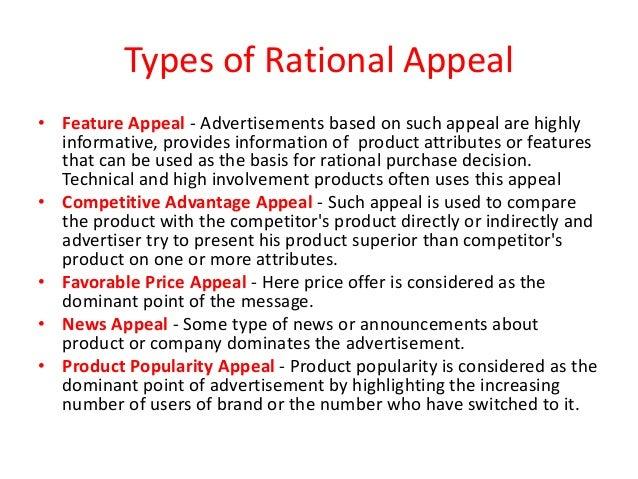 Appeals Of Advertisement