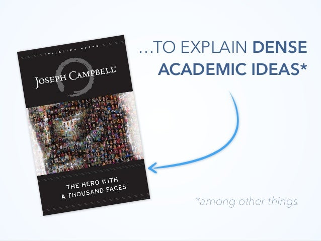 …TO EXPLAIN DENSE ACADEMIC IDEAS* *among other things