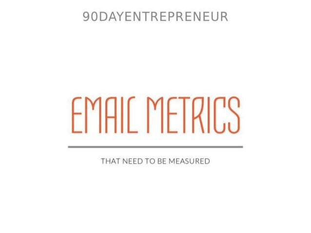 Email Metrics That Need to Be Measured