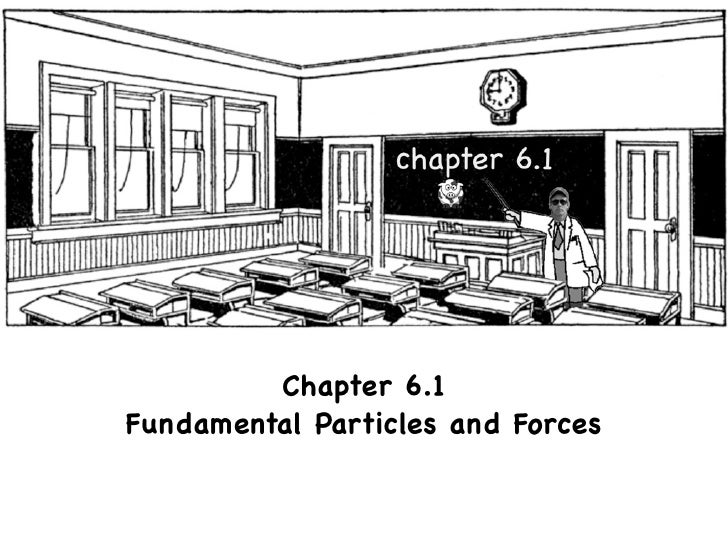 Chapter 6.1 Fundamental Particles and Forces