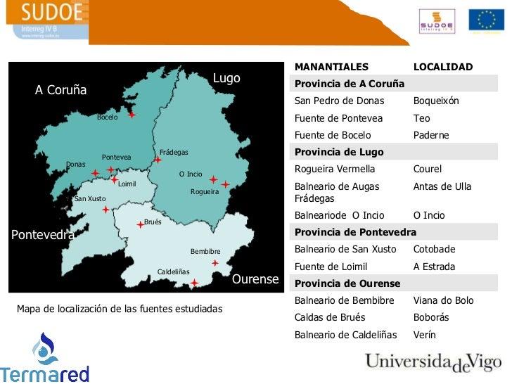 Jos Luis Legido Soto Proyecto TERMARED Estudio de manantiales de G