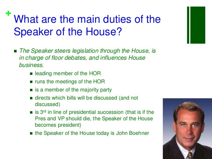 Organization of Congress & the General Assembly