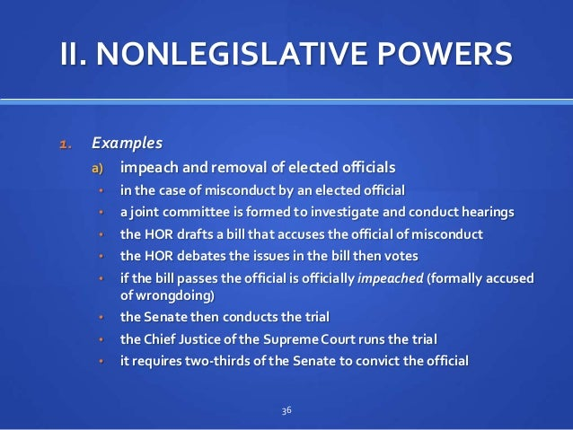 Congress Organization And Powers 6 1 2 3