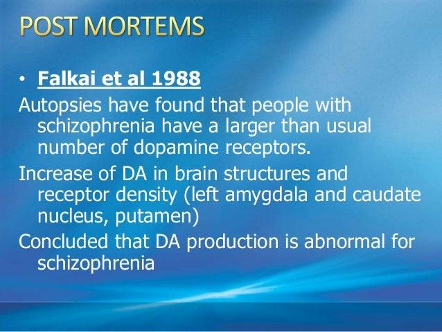 Serotonin: Causes both +ve and –ve symptoms in Sz. Clozapine dec. +ve symptoms and has robust Serotonin antagonist activit...