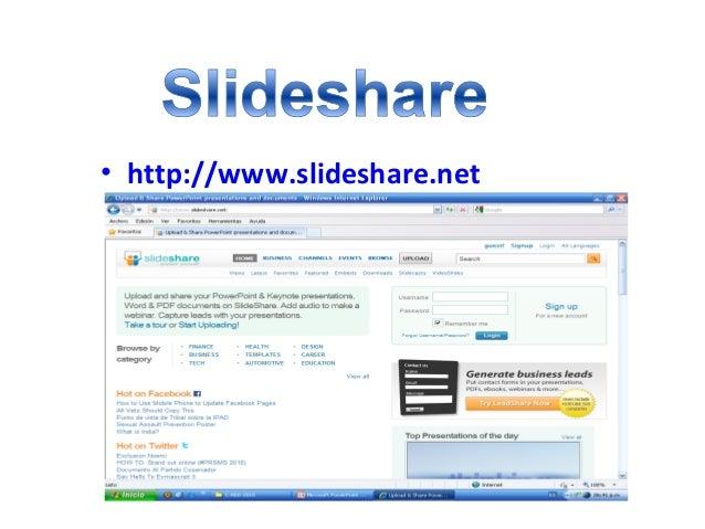 • http://www.slideshare.net