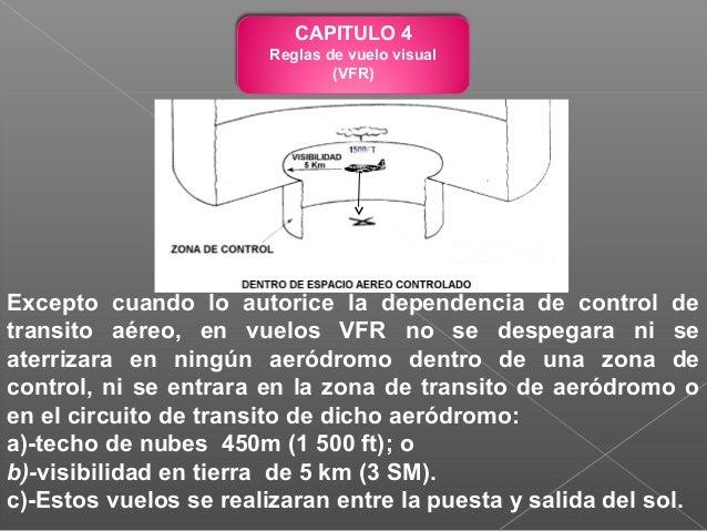 b)-En tierra: Durante las horas de luz diurna: Moviendo los alerones o el timón de profundidad. Durante las horas de oscur...