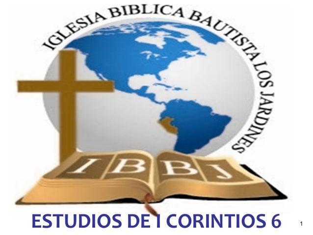 1ESTUDIOS DE I CORINTIOS 6