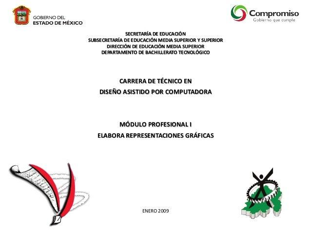 SECRETARÍA DE EDUCACIÓN SUBSECRETARÍA DE EDUCACIÓN MEDIA SUPERIOR Y SUPERIOR DIRECCIÓN DE EDUCACIÓN MEDIA SUPERIOR DEPARTA...