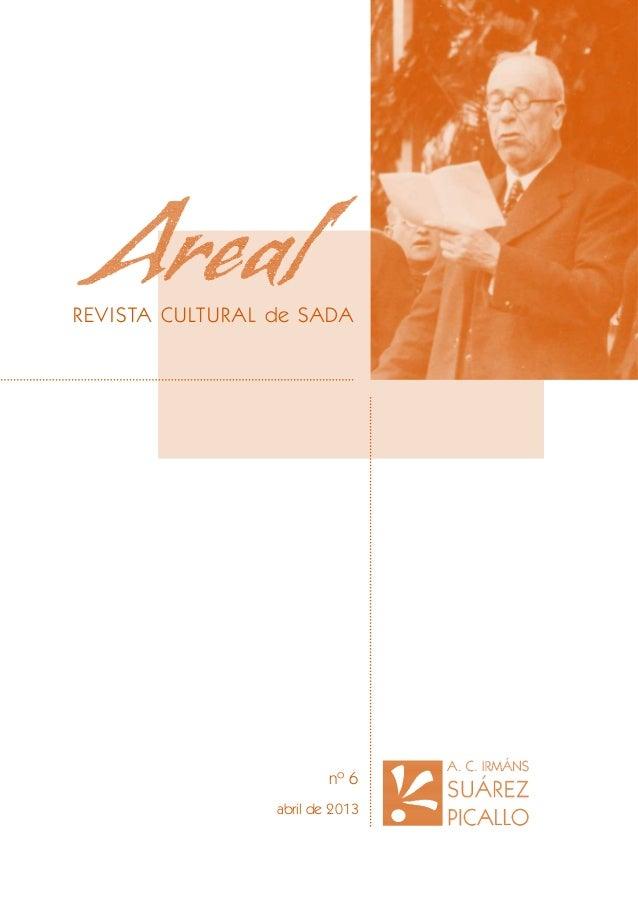 REVI STA CULTURAL de SADA  nº 6 abril de 2013