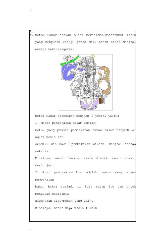 Soal Dan Jawaban No 6 Tugas Pendahuluan Motor Bensin Teknik Mesin