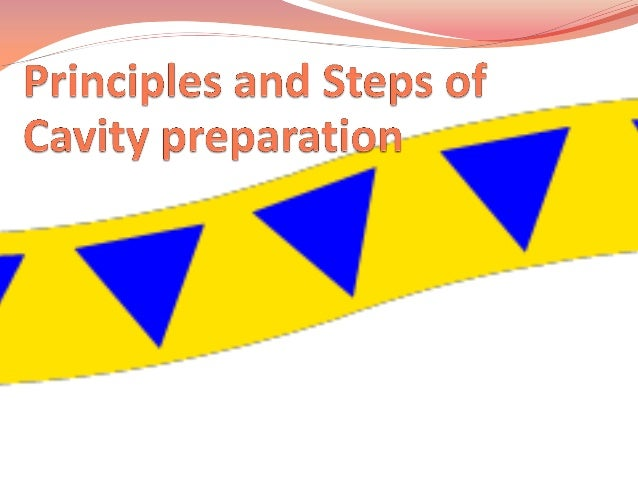 Road map Definitions  Objectives of cavity preparation  GV  Black's  principles  in  cavity   preparations    Steps of cav...