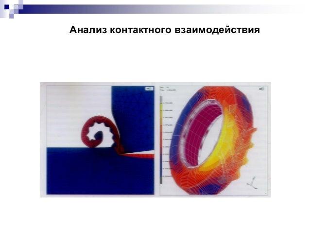 Анализ контактного взаимодействия