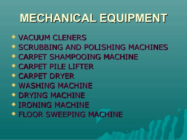 6 1 cleaning equipments for Kitchen equipment definition