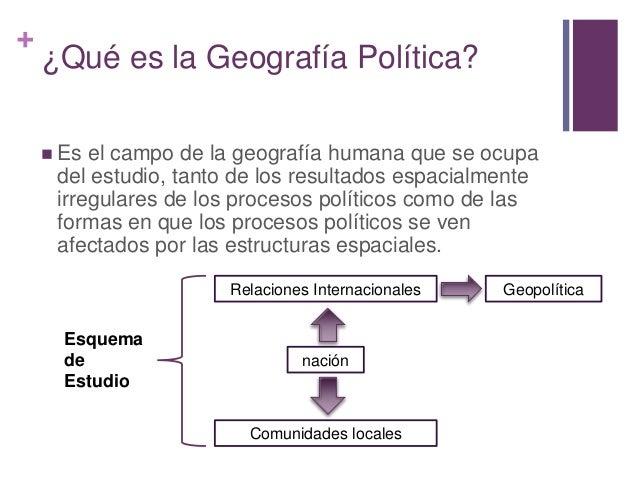 Geograf a pol tica for Que es politica internacional