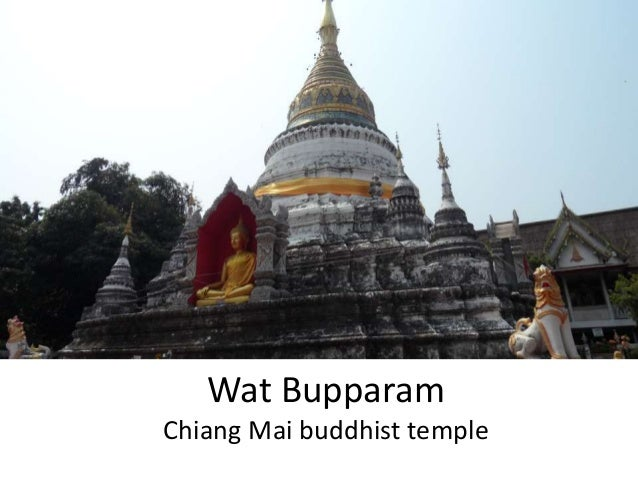 Wat Bupparam Chiang Mai buddhist temple