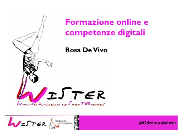 #d2droma #wister Foto di relax design, Flickr Formazione online e competenze digitali Rosa DeVivo