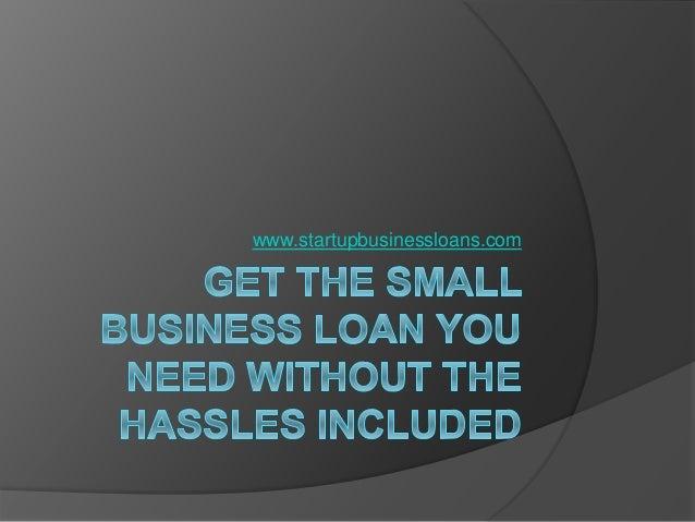 www.startupbusinessloans.com