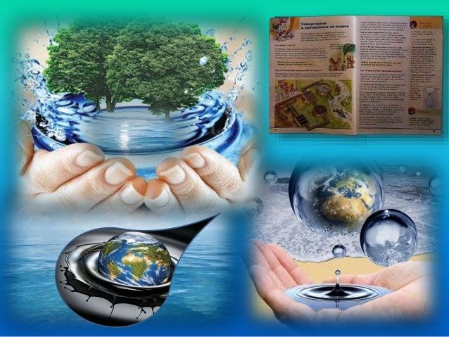 В природните води са разтворени различни вещества. Част от тях са необходими и полезни за живите организми. план
