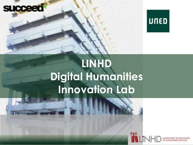 LINHD  Digital Humanities  Innovation Lab