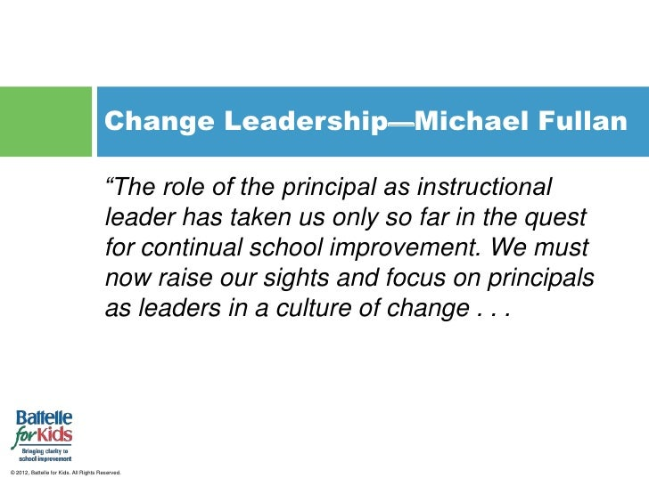 Purposeful Community And Change Leadership For The 21st