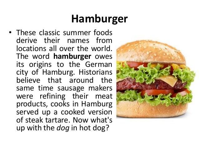 Hot Dog Name Origins