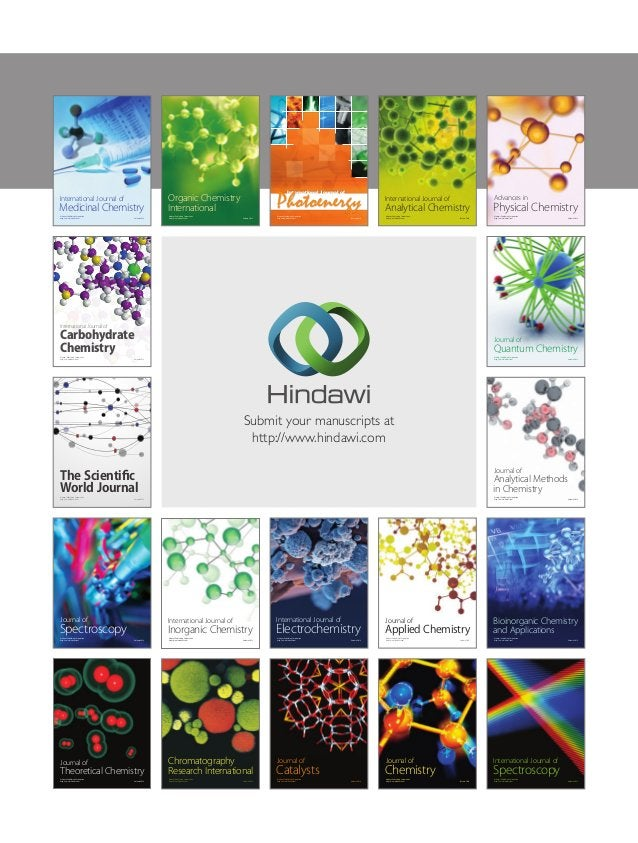 Submit your manuscripts at http://www.hindawi.com Hindawi Publishing Corporation http://www.hindawi.com Volume 2014 Inorga...
